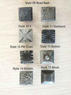 New series from Phoenix Handcraft: hand-forged drawer pulls by blacksmith Kyle Lucia. 18 styles, many in 2 finishes. Mosaic, rectangles, square knobs and more.