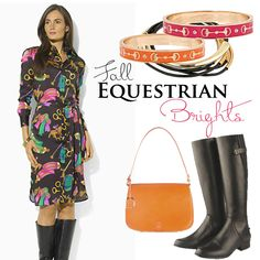 Fall Equestrian Brights ExceptionalEquestrian.com has these stunning bracelets in several fun colors!