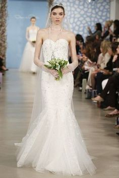 Mermaid Wedding Dresses : Oscar de la Renta Discount Wedding Dresses