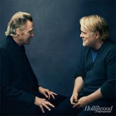 Christopher Walken and Philip Seymour Hoffman / The Outliers - The Hollywood Reporter