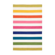 I am outright obsessed with this rug {Tutti Frutti Versa Cotton Carpet}. When I win the lottery, It. Will. Be. Mine. The 9' x 12' is $2050 (SAD FACE)!