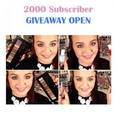 2000 Subscriber GIVEAWAY OPEN ^_^ http://www.pintalabios.info/en/youtube-giveaways/view/en/208 #International #MakeUp #bbloggers #Giweaway