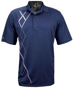 Now @ Golf Locker: Men's Short Sleeve Golf Shirts Camisa Polo, Mens Golf Outfit, Simple Shirts, Striped Polo Shirt, Long Shorts, Sport Man, Golf Shirts, Vista Print, Golf Apparel