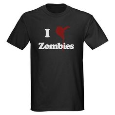 I wouldn't actually wear this out in public but i do love this zombie tshirt, who wouldn't? It would become another infamous I love this shirt but wouldn't wear it out laying around the house being a bum shirt.