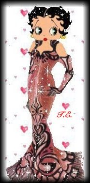 Betty Boop  .....glamour at it's best!