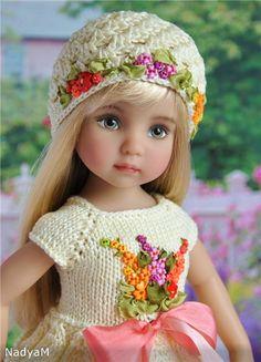 Очаровательная малышка от Дианы Эффнер, роспись Nelly Valentino . Новая цена. / Коллекционные куклы (винил) / Шопик. Продать купить куклу / Бэйбики. Куклы фото. Одежда для кукол