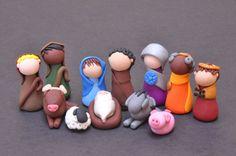 Tiny Nativity Scene