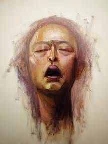 Self portrait of the Japanese artist Daisuke Ujuan (1973-)