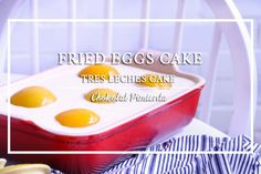 Fried Eggs Cake| Tres Leches Cake |Chokolat Pimienta ♥ - YouTube