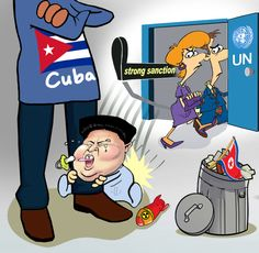 North Korea tries to hold on to Cuba