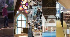 Skaten, slapen, shoppen, turnen of lezen zijn 5 nieuwe invullingen voor kerken in Vlaanderen. Het gaat over kerken die niet meer gebruikt worden als een echte kerk. Ze zijn verkocht aan mensen die er nieuwe plannen mee hebben. Zo probeert ons land om leegstaande panden te vermijden. Jongeren komen zo ook meer in contact met deze godsdienst.
