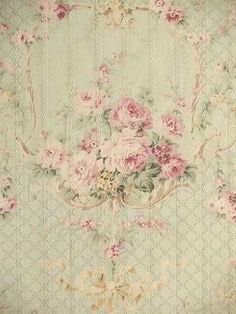 gorgeous soft floral, french, shabby, pink roses