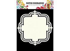 Niederländisch Doobadoo Form Kunst Blumen A5