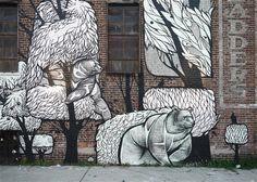 Feliks Mashkov and Vadim Gerasimenko.. . #streetart