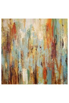 """Apollo Hand Embellished Gallery Wrapped Canvas Wall Art - 35"""" x 35"""" by Artists Guild Of America on @HauteLook"""