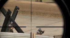 Teröristler bölgenize özel geliştirilmiş silahı patlatmak için saldıracaktır. Nişancıları kontrol ederek teröristleri etkisiz hale getirebilirsiniz. Nişancılar arası geçişi sağlamak için 1,2,3,4 tuşlarını kullanabilirsiniz. Bütün nişancılar askeri üssün farklı bölgesini korumaktadır. Geçiş yaparak bütün saldırılara karşılık verebilirsiniz. Askerin silahı ile zoom alabilmek için boşluk tuşunu kullanınız. Ateş etmek için ise fareyi kullanabilirsiniz.
