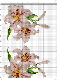 Cross Stitching, Cross Stitch Embroidery, Cross Stitch Patterns, Cross Stitch Flowers, Table Toppers, Orchids, Knitting, Crochet, Sissi