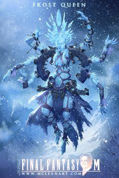 Final Fantasy M: Shiva by mc-the-lane on deviantART