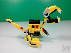 Open The Toy: MOC LEGO Mixel Dino 01