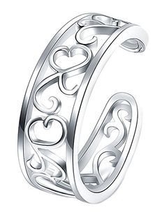 Toe Ring Celtic Norse Viking Riveted Band Strong Sturdy Design Finger or Toe
