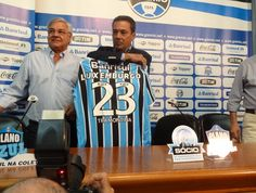 Luxemburgo é apresentado no Grêmio (Foto: Tomás Hammes/Globoesporte.com)