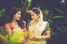 Exclusive! Diya Menon & Karthik Subramanian – Wedding Ceremony In Kerala #CelebrityWedding #Wedding #Diya Menon #Karthik Subramanian #WeddingPhotography #Deepak Vijay Photography #Bronzer Bridal Makeup Artist #Ezwed