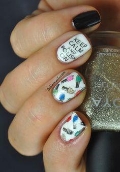 Lydia's Nails: Keep Calm and Polish On Nail Art