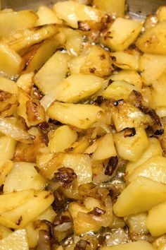 Weight Watchers Potatoes With Onions Recipe. This calls for 1 tbsp reduced calorie margarine, I would use olive oil, it's healthier.