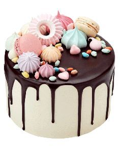 Vanilla Cloud Drip Cake. Peggy Porschen