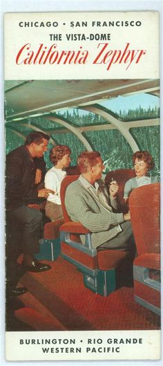 Brochure From California Zephyr