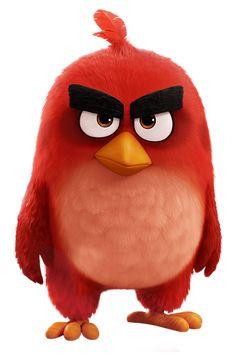 Watch->> The Angry Birds Movie 2016 Full - Movie Online Angry Birds Movie Red, Cumpleaños Angry Birds, Angry Birds Characters, Red Angry Bird, Disney Characters, Disney Pixar, Flightless Bird, Bird Party, Artwork