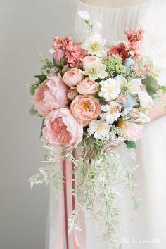 Image result for big blush bouquet