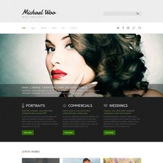 Joomla Template for Photo Portfolio Website