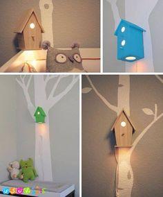 کودکانه ها - چراغ خواب اتاق کودک