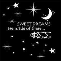 Sweet Dreams #Sorority Shirt #PhiSigmaSigma #SororityRush #Recruitment #Screenprinting $8.90 http://somethinggreek.com/shop/