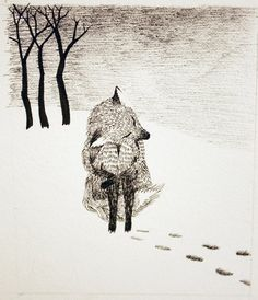 Aniela Sobieski - Illustrations from The Fox And His Sweater, 2013