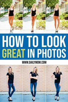 How To Pose In Pictures To Look Great Read Now! - People Photos - Ideas of People Photos - Some people are just naturals when it comes to taking great photos while others feel awkward and unsure. Read on to find out how to pose in pictures. Cute Poses For Pictures, Poses For Photos, Taking Pictures, Cool Pictures, Cool Photos, How To Pose For Pictures Like A Model, How To Look Skinnier, How To Look Better, That Look