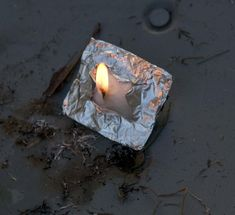 This is the quickest and best way to start a fire in adverse conditions.  Take a small square of foil, a cotton ball coated with Vaseline and fold the cotton/vaseline soaked ball into the foil in a small square.  When you need to start a fire, cut an X in the packet, twist out a small amount of cotton into a wick and strike a spark to it with your StrikeForce striker.  Lights first time, every time.  It will last up to 10-15 minutes depending on how much vaseline you put in the cotton.  Make…