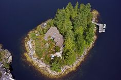 Own a Private Island Near Sechelt for $4 Million  City living got you down? Lamb Island is on the market for just under $4 million. It is located only two hours from downtown Vancouver and a 20 minute boat ride to the sleepy coastal town of Sechelt. The main house is just over 2,300 square feet of open concept living space which appears a bit weathered, but no big deal since you'll likely be spending all your time jumping off your private dock