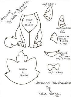 Desenhos para imprimir: drawings of cat marie - Katzen - Marie Aristocats, Aristocats Party, Disney Cats, Disney Diy, Disney Ornaments, Felt Ornaments, Cat Template, Marie Cat, Felt Cat