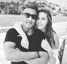 PHOTO: Sylvester Stallone Shares a Sweet Snapshot of Himself With Daughter Sophia