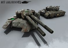 Battle Tank by atomhawk
