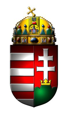 hungarian coat of arms Hungarian Tattoo, Hungarian Flag, Asian History, British History, Hungary History, Splash Images, Austria, Strange History, History Facts