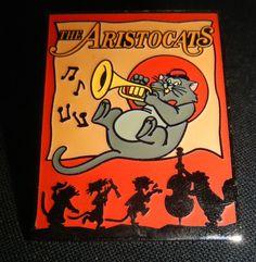 Walt Disney Aristocats Scat Cat Playing Trumpet Pin #24