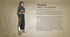 LOK Oc: Tikaani Profile by EmaNosha on DeviantArt