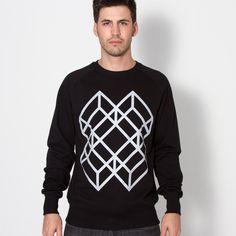 Silver Cube Sweatshirt