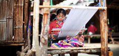 Tajladia- Chiang Mai- Plemię długoszyje
