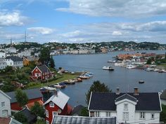 Arendal, Norway  This is where my grandfather was born and lived until he turned 21