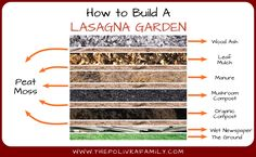 Preparing Vegetable Beds for Spring: Lasagna Gardening | The Polivka Family
