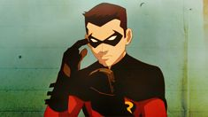 Tim Drake as Robin in Young Justice